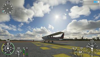flugzeug, simulator, landepiste, flughafen,