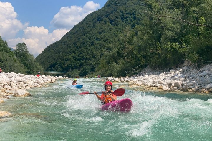 Wildwasser-Kajakkurs im Soca-Tal: So war unser erstes Mal