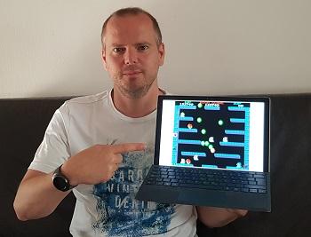 mein erstes videospiel, kultgames, bubble bobble, pc, laptop