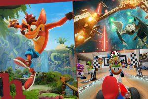 Neue Games im Oktober: Sternenkrieger, Kart & Beutelratte