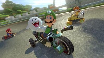 mario Kart 8 Deluxe, Luigi, Super Mario, Prinzessin Peach