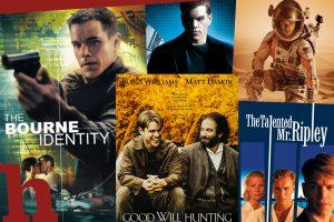 Die besten Matt Damon Filme: Unsere Top-10 zum 50er des Stars