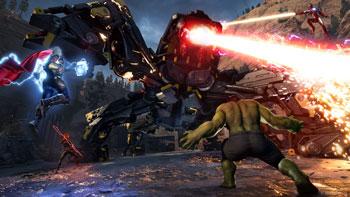 marvel's avengers, thor, hulk, gegner