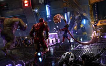 marvel's avengers, hulk, iron man, ms. marvel