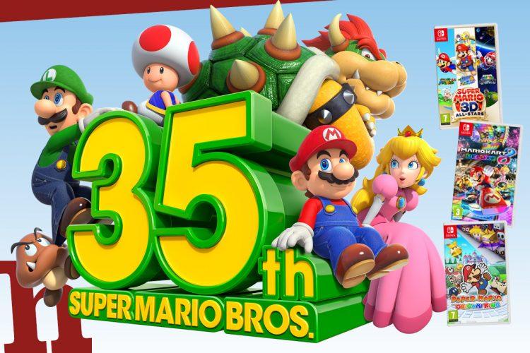 Gewinn Mega-Mario-Paket: Mit 3D All-Stars, Mario Kart und Paper Mario