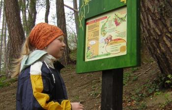 naturpark purkersdorf, waldlehrpfad, augen auf