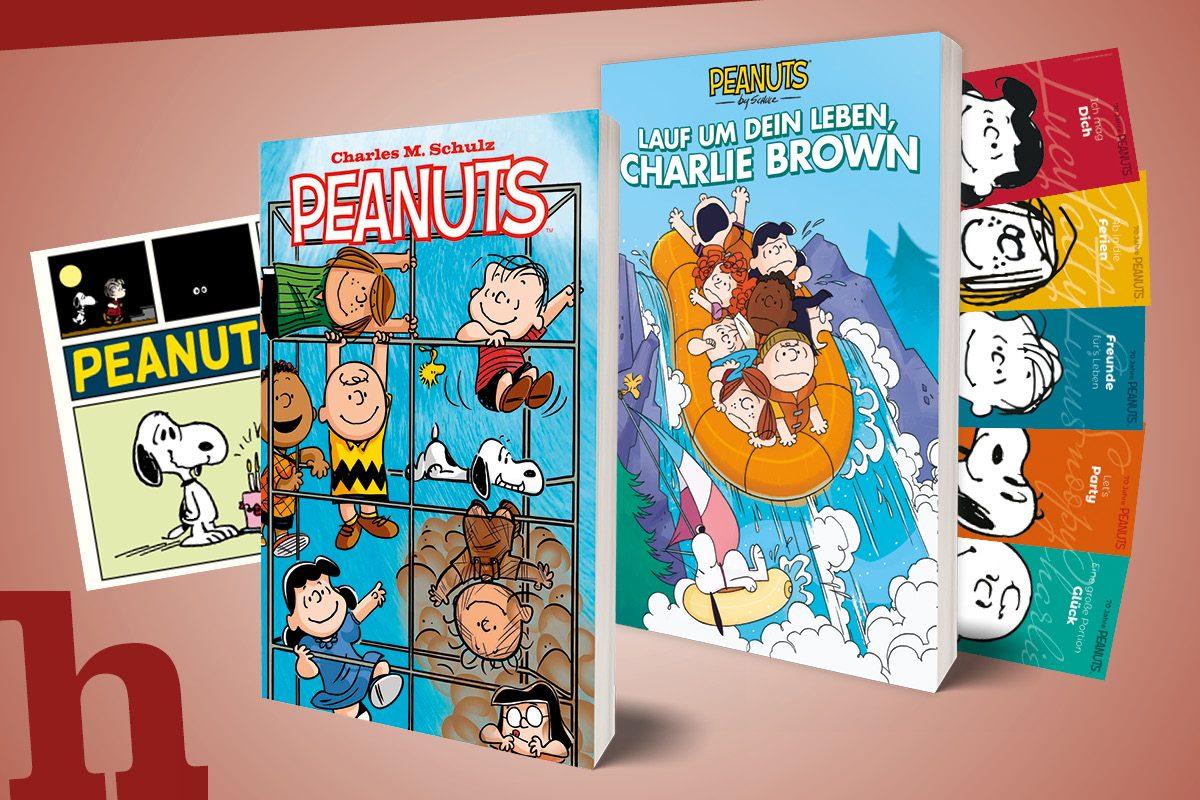 70 Jahre Peanuts – gewinn Megapaket zu den Kult-Comichelden