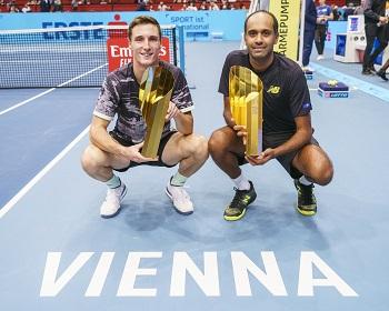 Rajeev Ram und Joe Salisbury, Doppel-Sieger Wien 2019, Erste Bank Open