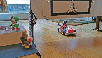nintendo, mario kart live home circuit, gameplay, wagen,