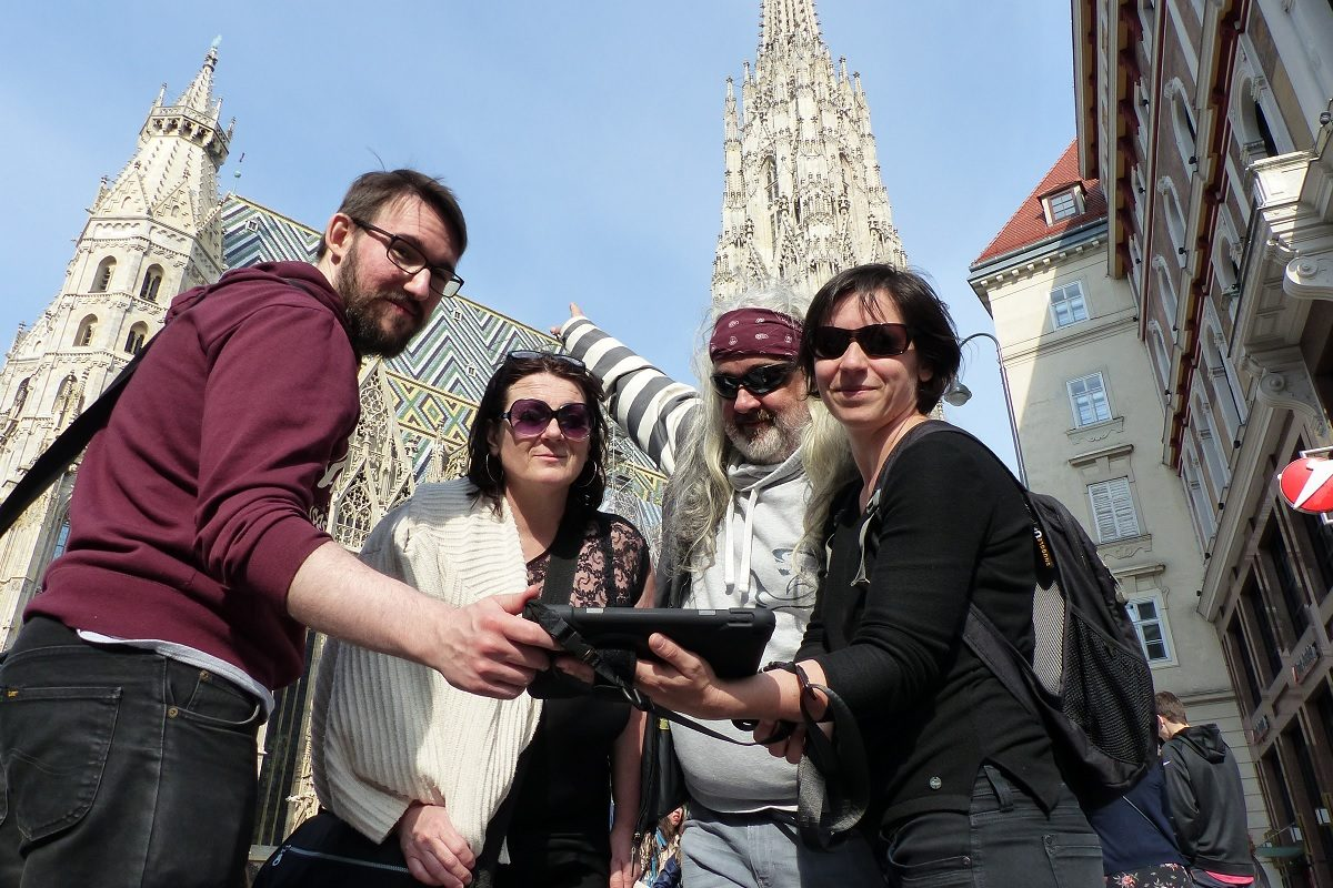 Gewinnt Augmented-Reality-Rätselrally durch Wiens Innenstadt