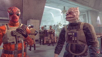star wars squadrons test, crew, review, pc