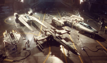 star wars squadrons,  schiffe, x-wing, a-wing, bomber