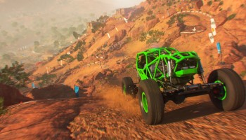 Dirt 5, Wüste, Sand, Rally, Test