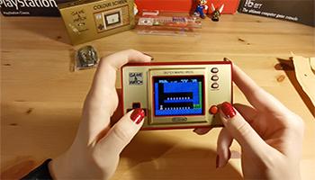 game and watch, nintendo, 35 jahre mario, jubiläum, retro-konsole, mini-konsole, sammlergegenstand,x