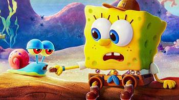 spongebob-film auf netflix, gary hausschnecke, junger schwammkopf