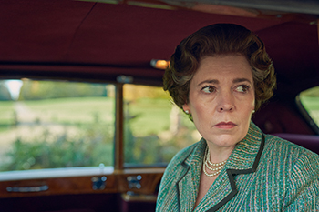 netflix, the queen, olivia colman, petr morgan