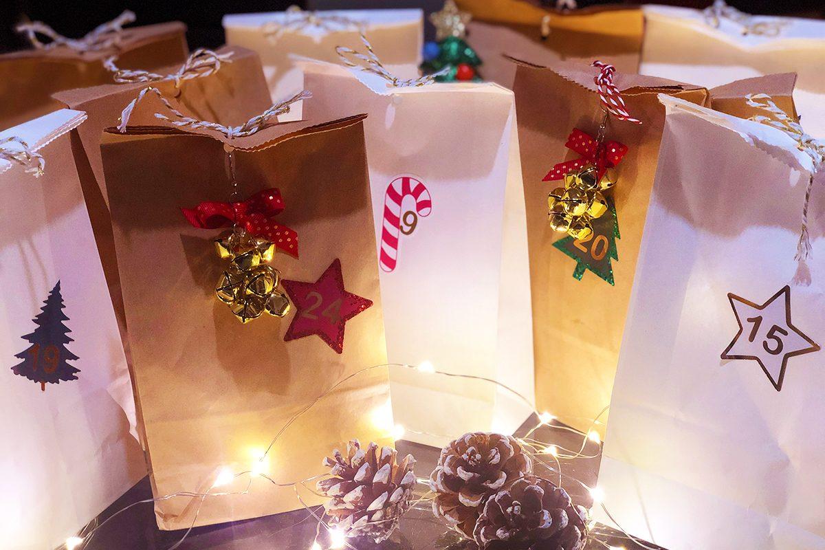 Adventkalender selber machen im Lockdown – 24 lässige Ideen