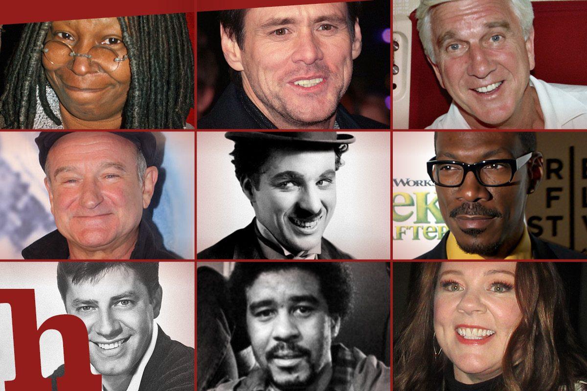 Die besten Film-Comedians aller Zeiten: 40 Legenden