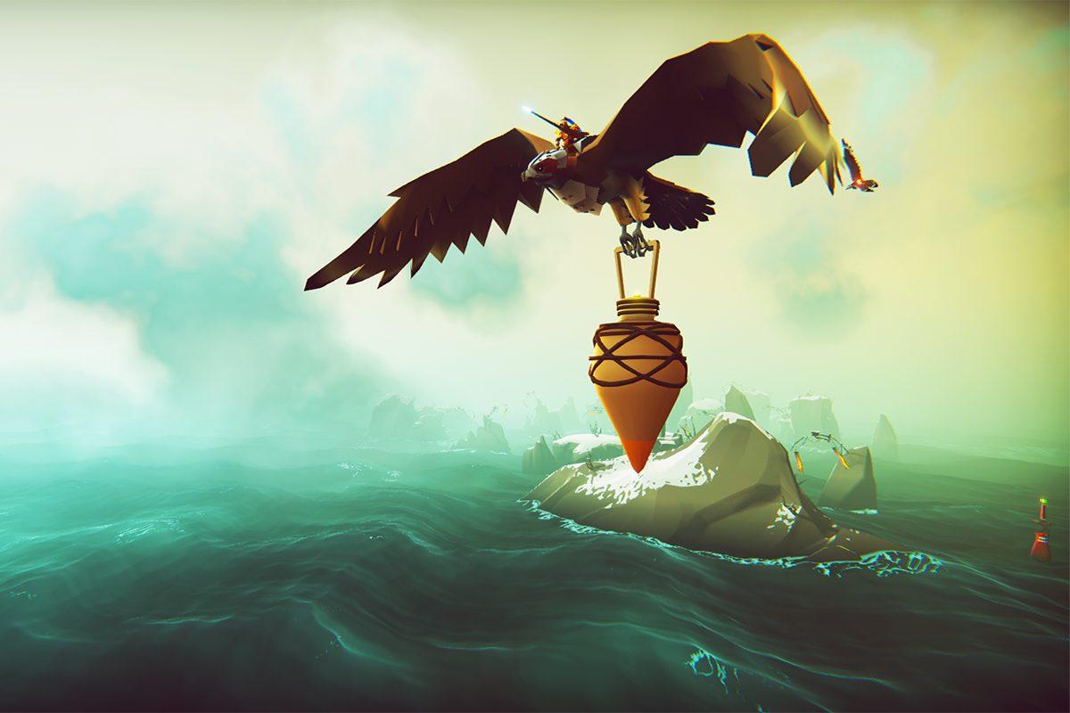 The Falconeer: Höhenflug im Kampf, Tiefflug beim Rest