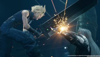 final fantasy vii, remake, cloud, sephiroth, videospiel-geschenktipps 2020, ps4, exclusive,
