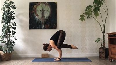 handstand, yogakurs, online