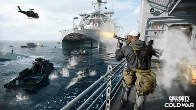 Call of Duty: Black Ops Cold War, Meer, Schiff versenkt