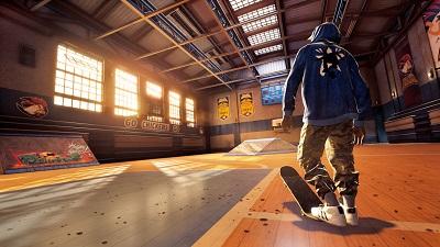 Tony Hawk's Pro Skater, Skatehalle