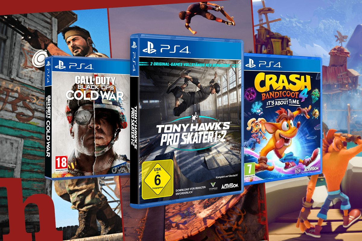 Gewinn PS4-Hits: Crash 4, Tony Hawk oder CoD Cold War