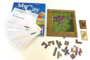 My City Brettspiel-Test: Stadtbau-Tetris für viele Tage Spaß
