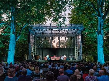 Theater im Park im Belvedere, Bühne, Wien