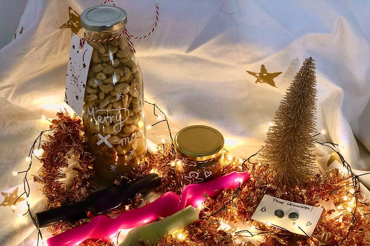DIY Geschenke für Weihnachten – 4 kreative Ideen mit Video