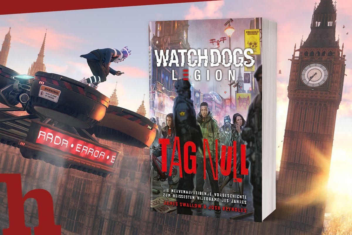 Watch Dogs: Legion – Gewinn Gold Edition und das Buch zum Spiel