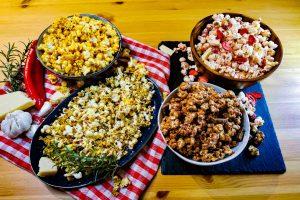 4 tolle Popcorn-Ideen fürs Heimkino: Von süß bis würzig!