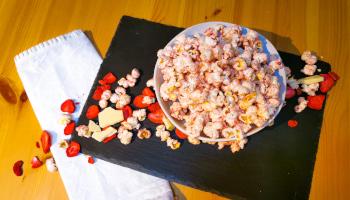 erdbeere, weiße schokolade, mais, selbermachen,