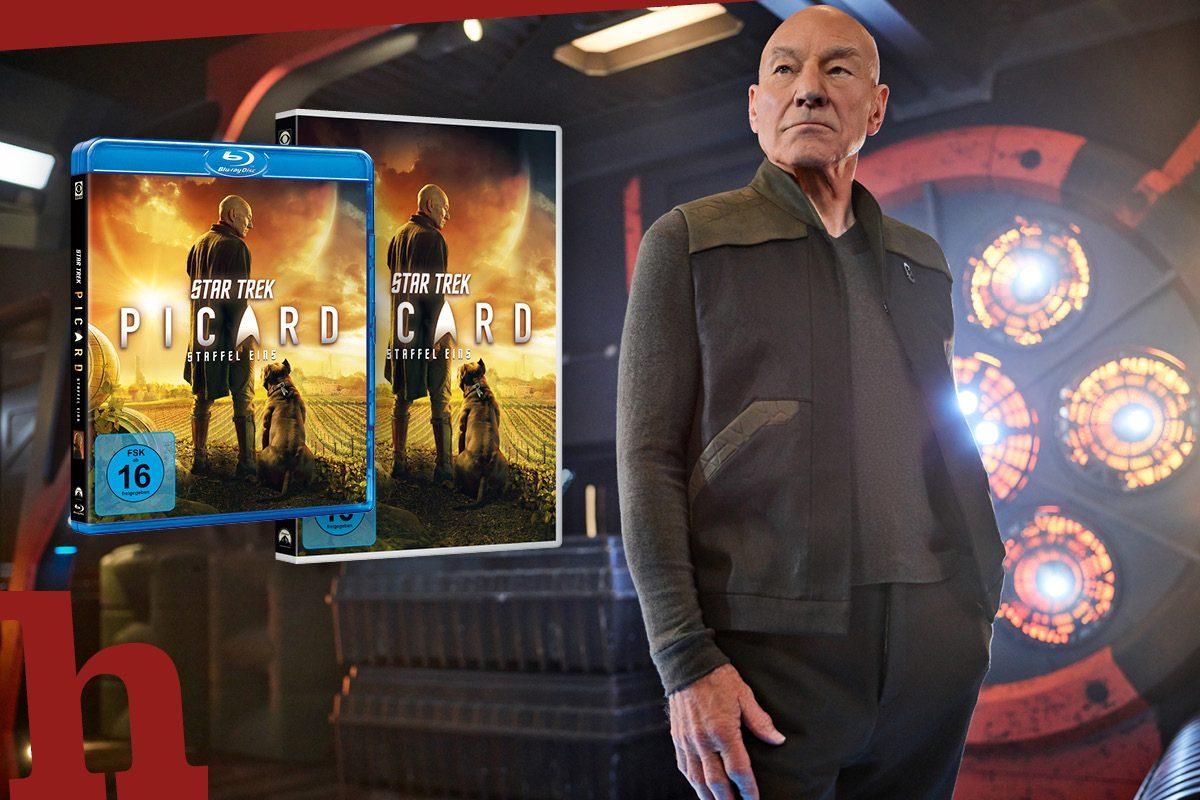 Star Trek: Picard – DVD oder Blu-ray der ersten Staffel gewinnen