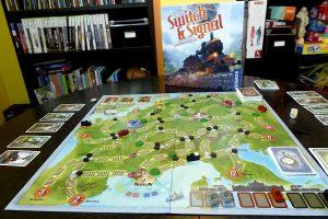 Switch & Signal: Test und Tipps zum zügigen Zug-Brettspiel