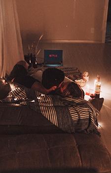 netflix, valentinstag, zuhause