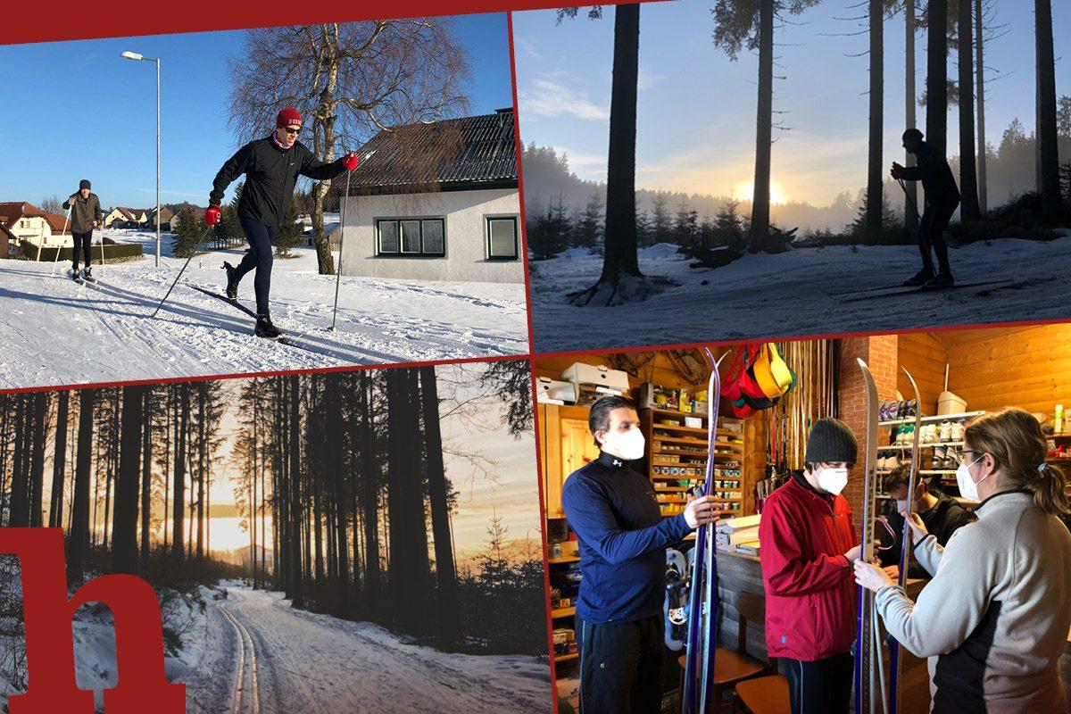 Langlaufen in Bärnkopf im Test: Das Mini-Norwegen im Waldviertel