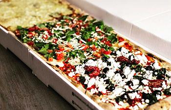 la pausa, pizza, take away