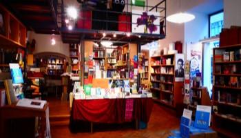 Buchhandlungen Wien, Leporello, Lesen, Literatur, Bücher