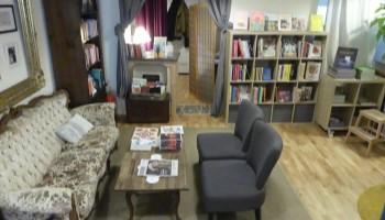 Buchcafé Melange, Buchhandlungen Wien, Literatur, Café, Bücher, Couch