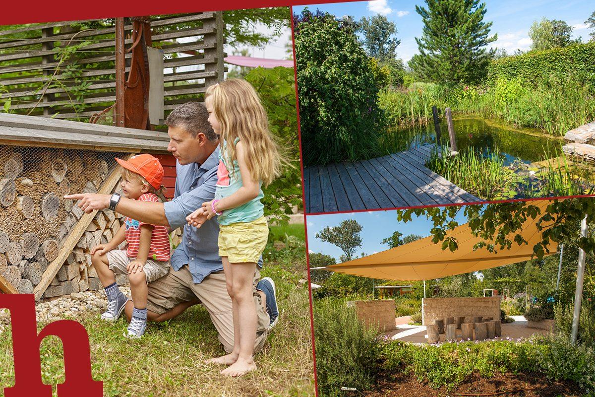 Die Garten Tulln: grüne Inspiration in über 70 Schaugärten