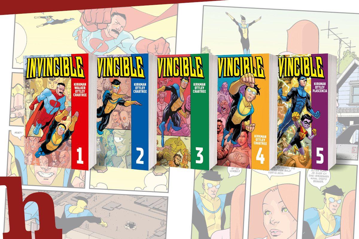 Comic-Hit Invincible: Review zum Buch und Gewinnspiel