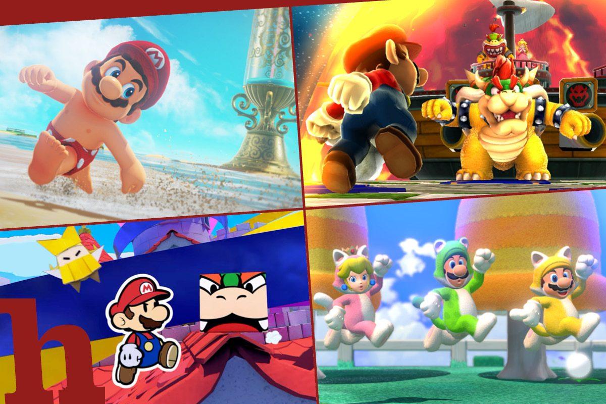 Die 10 besten Mario Spiele für die Switch im ultimativen Ranking