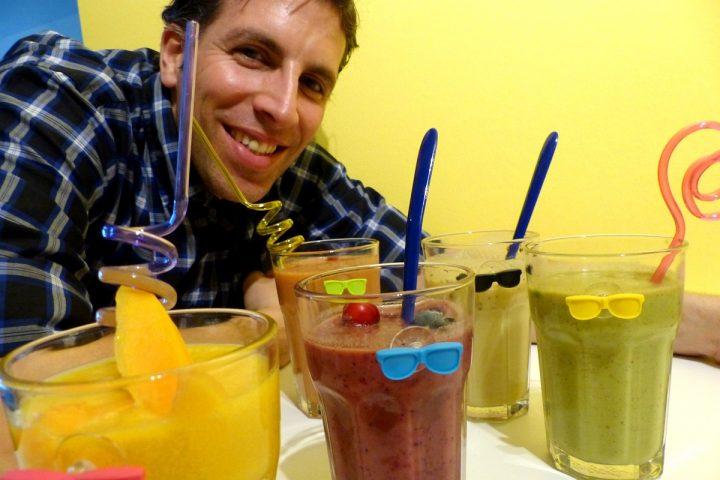 Die besten veganen Smoothies: 5x gesunde Power in 5 Farben!
