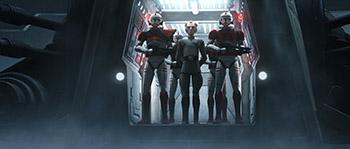 disney+, star wars, serie, clone force 99, moff tarkin