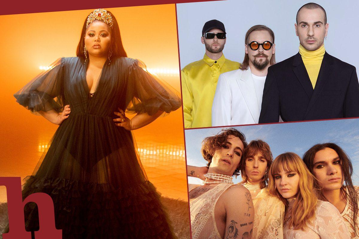 Song Contest Favoriten 2021: Diese Lieder bleiben dir im Kopf