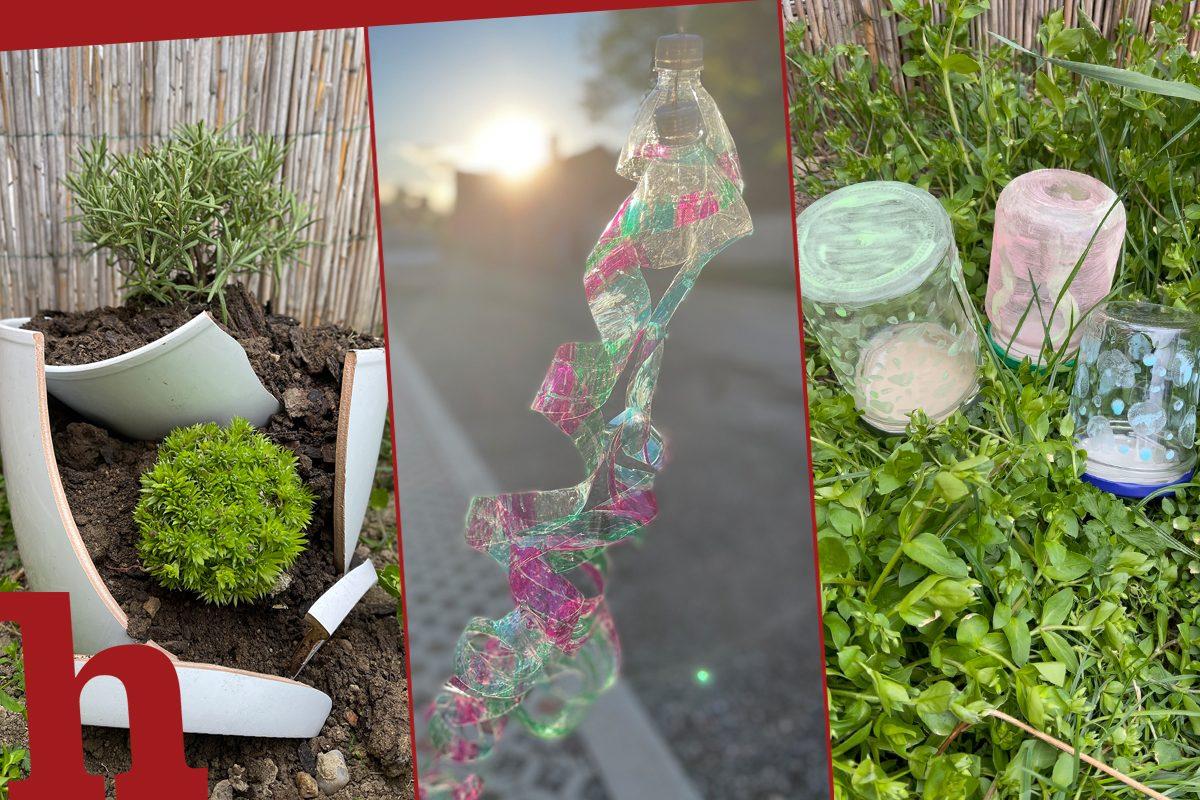 Upcycling Gartendeko: 3 einfache und nachhaltige DIYs
