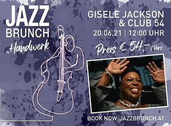 Gisele Jackson beim Jazzbrunch in Wien
