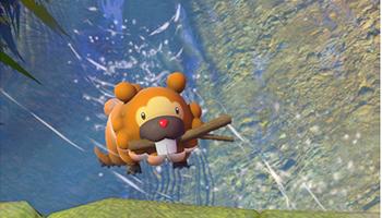 new pokémon snap, nintendo, switch, fotografie, spiel, bidiza, bieber, wasser,